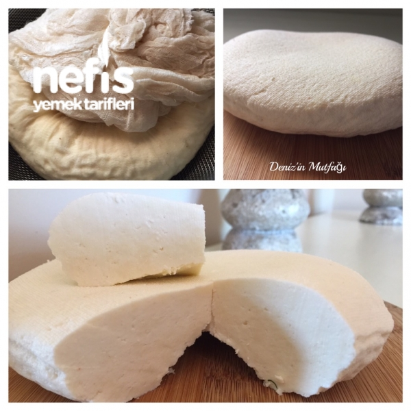 Ev Yapımı Pratik Peynir