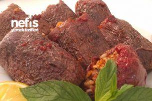 Adana Usulü Kuru Patlıcan Biber Dolması Tarifi