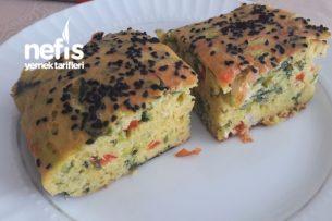 Sarı Mercimek Unlu Sebzeli Kek ( Glutensiz ) Tarifi