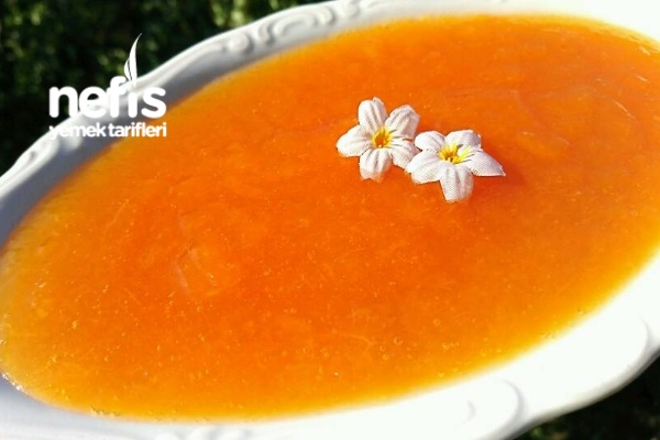 Şeftali Marmelatı (Tam Kıvamında Nefis) Tarifi