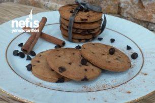 Bitter Ve Tarçınlı Cookies ( Kıyır Kıyır ) Tarifi