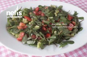Yabani Semiz Otu ( Pirpirim Tohum Atan) Salatası Tarifi