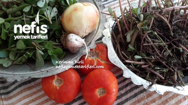 Yabani Semiz Otu( Pirpirim , Tohum Atan) Yemeği