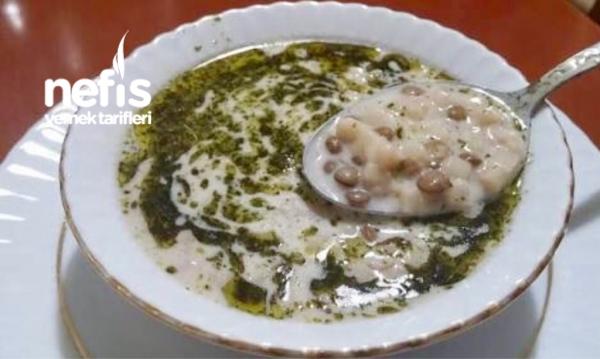 Mercimekli Hamur Çorbası