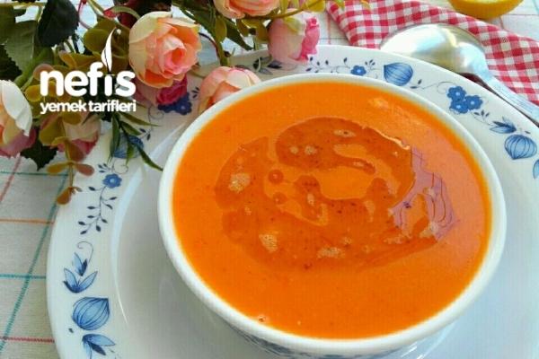 Sebzeli Domates Çorbası Tarifi