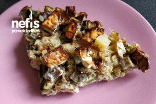 Glutensiz Sebze Tartı (Diyet Yemeği) Tarifi