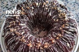 Kakaolu Damla Çikolatalı Pamuk Kek Tarifi