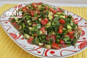 Nefis Nar Ekşili Kaşık Salatası Tarifi