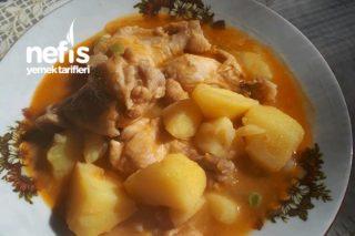Tavuk Kanatlı Sulu Patates Yemeği Tarifi