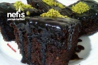 Bol Çikolatalı Cevizli Browni Kek (Parmak Yedirten Lezzet) Tarifi