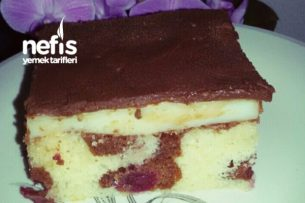 Donauwelle (Harika Tuna Dalgası Pasta) Tarifi