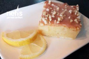 Limonlu Bademli (Quarklı) Kek Tarifi