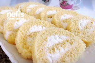 Sade Rulo Pasta (Pamuk Gibi) Tarifi
