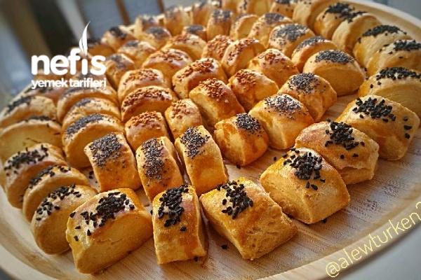 Kıyır Kıyır Sirkeli Pastane Kurabiyesi (82 Adet)