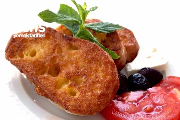 Yumurtalı Bayat Ekmek Kızartması Tarifi