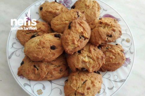 Cookies(Bol Malzemeli Ve Kıyır Kıyır) Tarifi