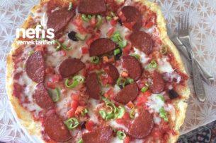 Evde Kolay Pizza Tarifi