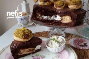Profiterollü Pasta Tarifi