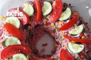 Şalgamlı Yıldız Makarna Salatası Tarifi