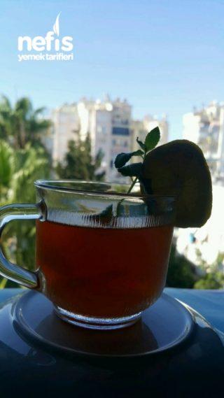 Sağlıklı Soğuk Çay (ice Tea)