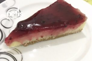 Böğürtlenli Pasta (Pişmeyen) Tarifi