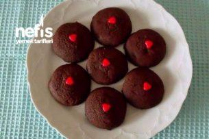 Bitter Çikolata Ve Nutellalı Kurabiye Tarifi