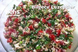 Çingene Pilavı (Peynir Salatası) Muğla Tarifi