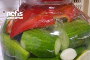 Çıtır Salatalık Turşusu  ( Bayrama ) Tarifi