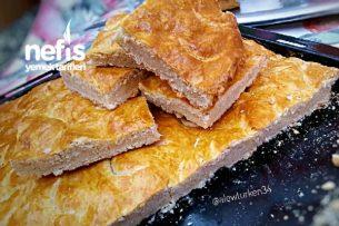 10 Dakikada Nefis Yağlı Tepsi Çöreği (Anne Usulü) Tarifi