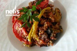 Enfes Patlıcan Oturtma (Fırında) Tarifi