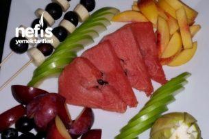 Meyve Şöleni Enerji Deposu Vitamin Kuşağı Tarifi