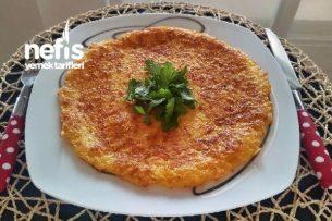 Patatesli Omlet (Çok Pratik) Tarifi