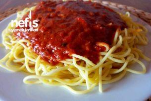 Spagetti (Bolonez Soslu) Enfes Lezzet Tarifi