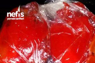 Kışlık Kırmızı Biber Közleme Tarifi