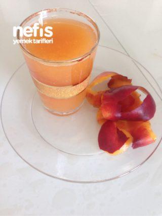 Şeftali Kabuğundan Meyve Suyu