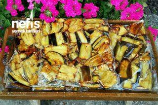 Kışlık Dondurucuda Patlıcan Saklama (Yemeklik) Tarifi
