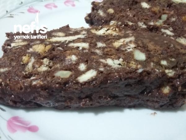 Bol Cikolatali Mozaik Pasta