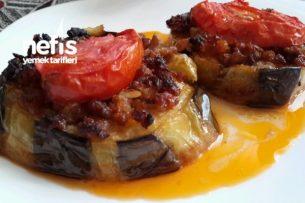 Bostan Patlıcanlı Nefis Karnıyarık Tarifi