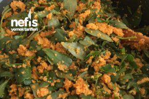 Bulgurlu Semizotu Salatası Tarifi