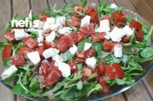 Peynirli Sarımsaklı Semizotu Salatası (Öğün Niyetine Harika) Tarifi