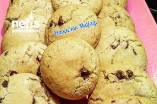 Damla Çikolatalı Cookies Tarifi