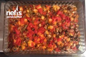 Fırında Sebzeli Yemek Tarifi