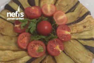 Patlıcanlı Etli Pilav Kek Kalıbında Tarifi