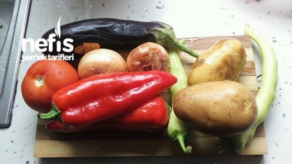 6 Sebzeli İri Bulgur Pilavı