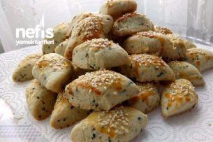 Çörek Otlu Tuzlu Kurabiye Tarifi
