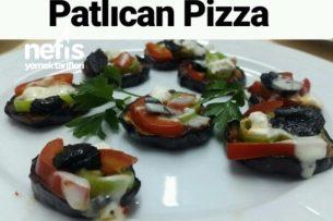 Patlıcan Pizza (Diyet Sınırsız Pizza) Tarifi