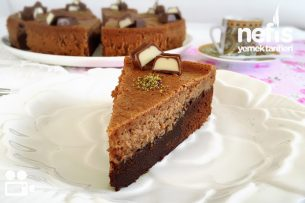 Brownie Cheesecake Videolu Tarifi
