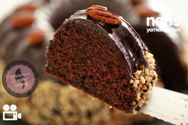 Çikolata Soslu Kek Videolu