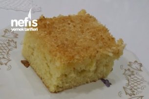 Hindistan Cevizli Kek (Süt Kremalı) Tarifi