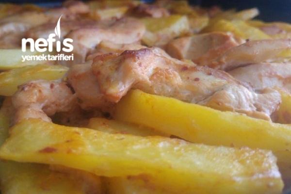 Fırında Tavuk Patates (Bonfile) Tarifi